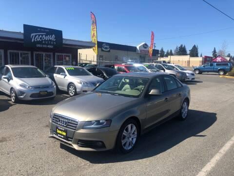 2009 Audi A4 for sale at Tacoma Autos LLC in Tacoma WA