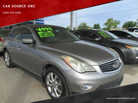 2008 Infiniti EX35 for sale at CAR SOURCE OKC in Oklahoma City OK