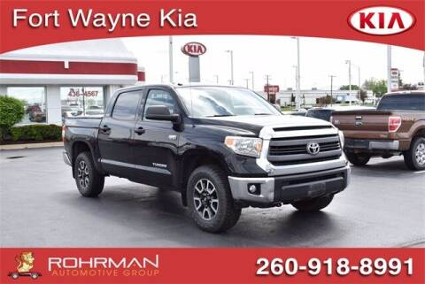 2014 Toyota Tundra for sale at BOB ROHRMAN FORT WAYNE TOYOTA in Fort Wayne IN