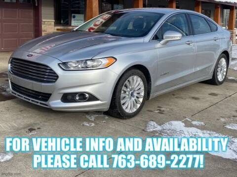 2013 Ford Fusion Hybrid for sale at Affordable Auto Sales in Cambridge MN