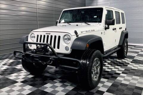 2014 Jeep Wrangler Unlimited for sale at TRUST AUTO in Sykesville MD