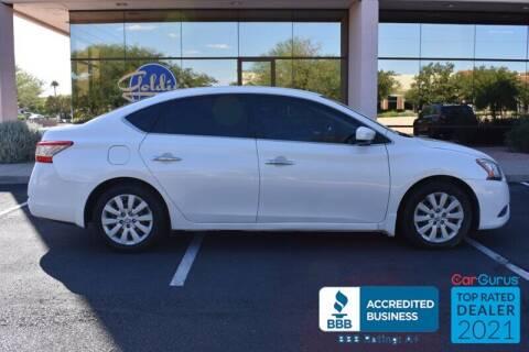 2013 Nissan Sentra for sale at GOLDIES MOTORS in Phoenix AZ