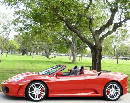 2008 Ferrari F430 Spider for sale at M.D.V. INTERNATIONAL AUTO CORP in Fort Lauderdale FL