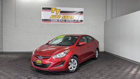 2016 Hyundai Elantra for sale at TT Auto Sales LLC. in Boise ID