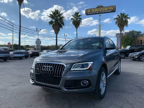 2015 Audi Q5 for sale at A MOTORS SALES AND FINANCE - 10110 West Loop 1604 N in San Antonio TX