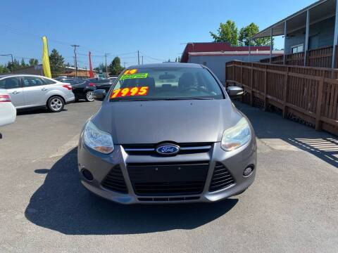 2014 Ford Focus for sale at Low Price Auto and Truck Sales, LLC in Salem OR