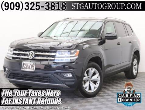 2019 Volkswagen Atlas for sale at STG Auto Group in Montclair CA