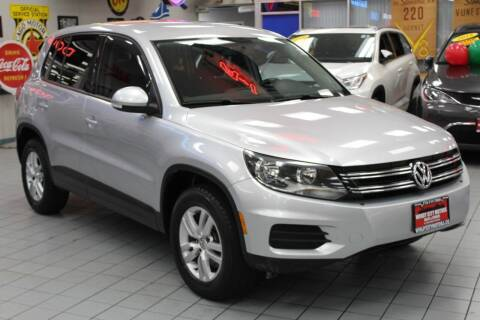 2014 Volkswagen Tiguan for sale at Windy City Motors in Chicago IL