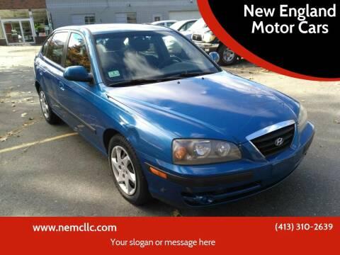 2006 Hyundai Elantra for sale at New England Motor Cars in Springfield MA