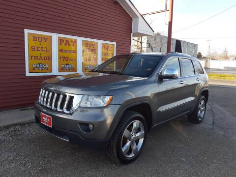 2011 Jeep Grand Cherokee for sale at Mack's Autoworld in Toledo OH