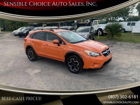2013 Subaru XV Crosstrek for sale at Sensible Choice Auto Sales, Inc. in Longwood FL