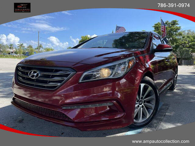 2015 Hyundai Sonata for sale at Amp Auto Collection in Fort Lauderdale FL