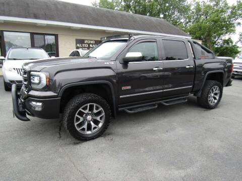 2016 GMC Sierra 1500 for sale at 2010 Auto Sales in Troy NY