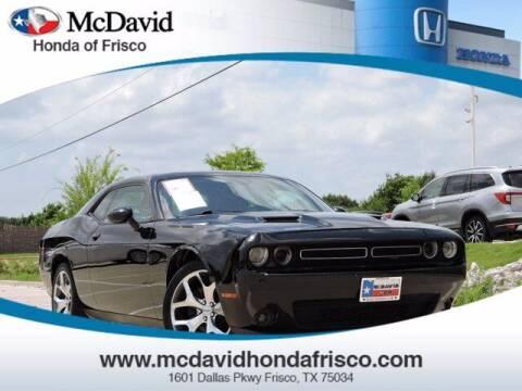 2016 Dodge Challenger for sale at DAVID McDAVID HONDA OF IRVING in Irving TX