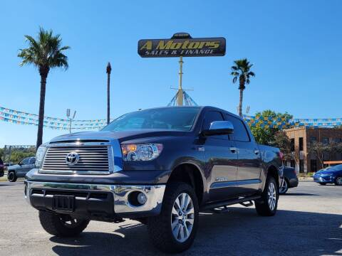 2013 Toyota Tundra for sale at A MOTORS SALES AND FINANCE - 5630 San Pedro Ave in San Antonio TX