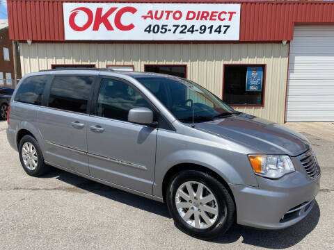 2016 Chrysler Town and Country for sale at OKC Auto Direct in Oklahoma City OK