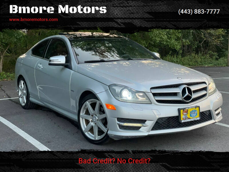 2012 Mercedes-Benz C-Class for sale at Bmore Motors in Baltimore MD