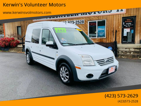 2013 Ford Transit Connect for sale at Kerwin's Volunteer Motors in Bristol TN