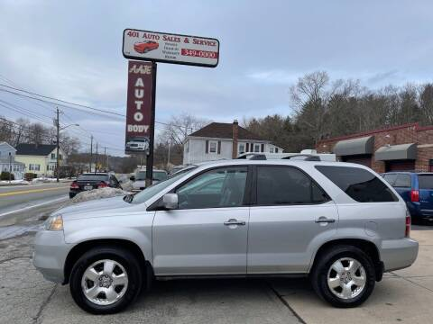 2005 Acura MDX for sale at 401 Auto Sales & Service in Smithfield RI