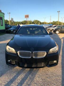 2013 BMW 5 Series for sale at Marvin Motors in Kissimmee FL