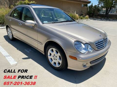 2005 Mercedes-Benz C-Class for sale at 7 Auto Group in Anaheim CA