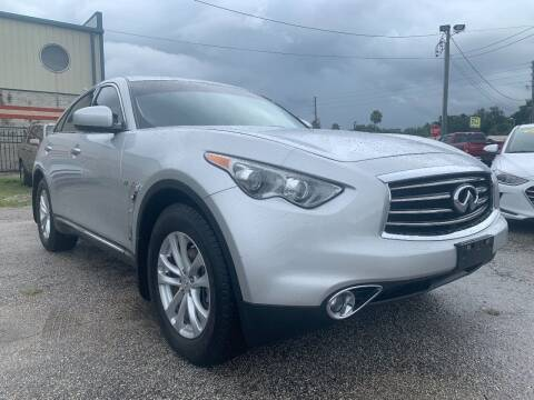 2014 Infiniti QX70 for sale at Marvin Motors in Kissimmee FL