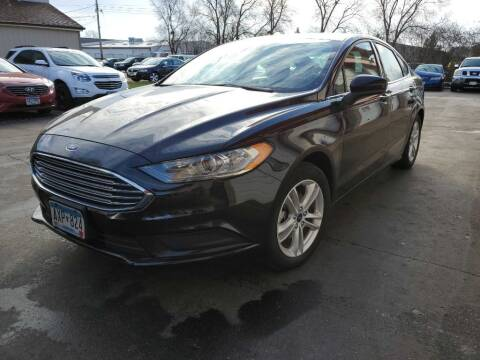 2018 Ford Fusion for sale at MIDWEST CAR SEARCH in Fridley MN