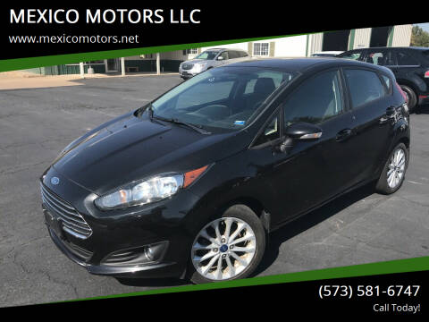 2014 Ford Fiesta for sale at MEXICO MOTORS LLC in Mexico MO