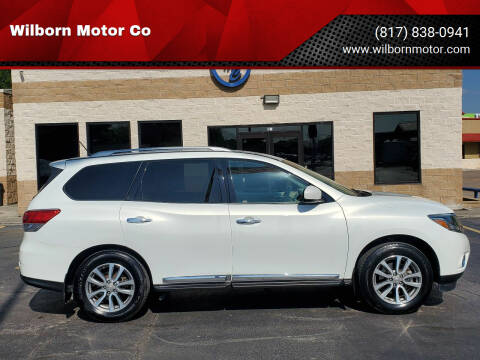 2014 Nissan Pathfinder for sale at Wilborn Motor Co in Fort Worth TX