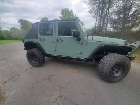 2008 Jeep Wrangler Unlimited for sale at Dukes Automotive LLC in Lancaster SC