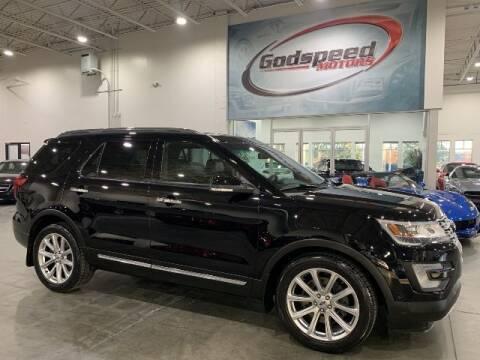2017 Ford Explorer for sale at Godspeed Motors in Charlotte NC