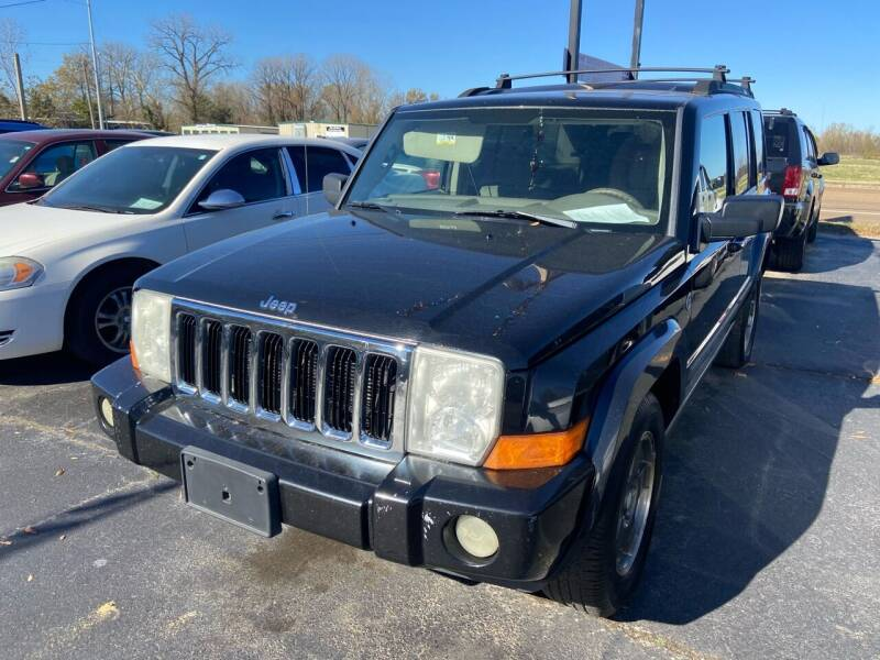 2008 Jeep Commander for sale at Sartins Auto Sales in Dyersburg TN