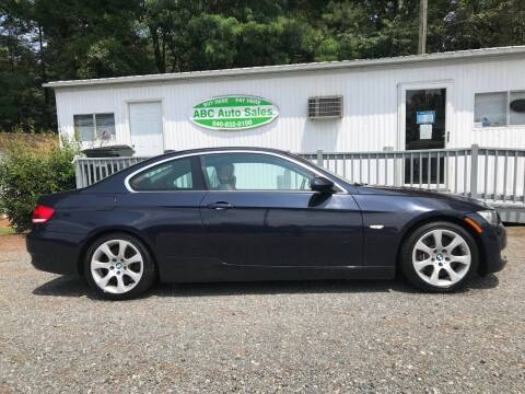 2007 BMW 3 Series for sale at ABC Auto Sales (Culpeper) - Barboursville Location in Barboursville VA