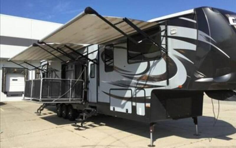 2015 Heartland CYCLONE HD EDITION TOY HAULER for sale at Motomaxcycles.com in Mesa AZ