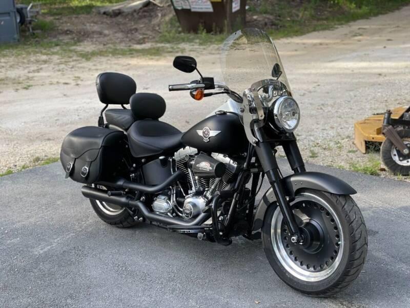 2015 Harley-Davidson Fat Boy Lo FLSFTB for sale at Kent Road Motorsports in Cornwall Bridge CT