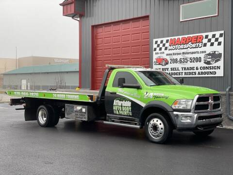 2014 RAM Ram Chassis 5500 for sale at Harper Motorsports-Vehicles in Post Falls ID
