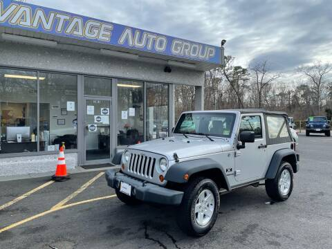 2009 Jeep Wrangler for sale at Vantage Auto Group in Brick NJ