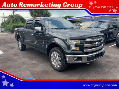 2015 Ford F-150 for sale at Auto Remarketing Group in Pompano Beach FL