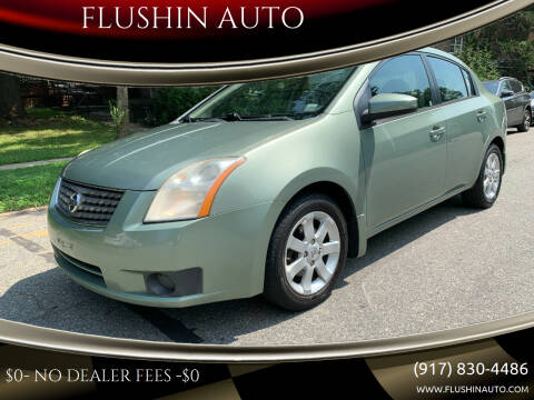 2007 Nissan Sentra for sale at FLUSHIN AUTO in Flushing NY