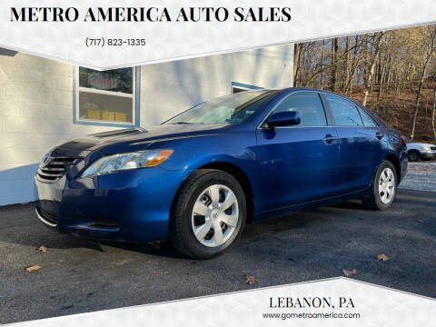 2007 Toyota Camry for sale at METRO AMERICA AUTO SALES of Lebanon in Lebanon PA