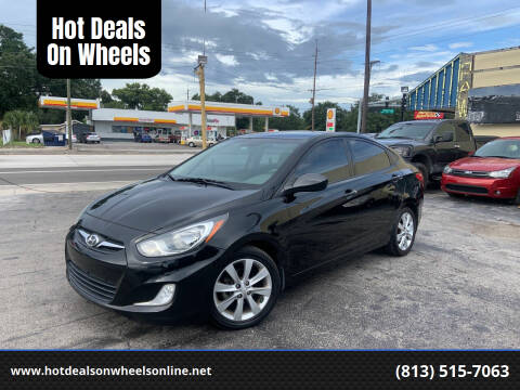 2012 Hyundai Accent for sale at Hot Deals On Wheels in Tampa FL