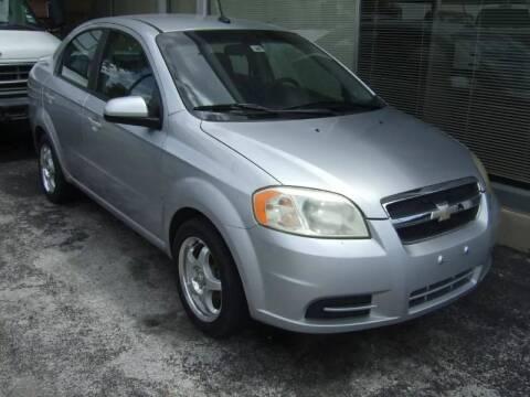 2009 Chevrolet Aveo for sale at C&R  MOTORS in San Antonio TX