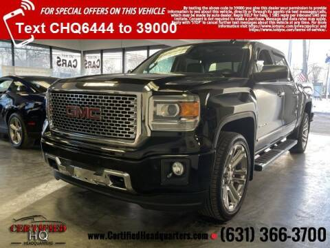 2015 GMC Sierra 1500 for sale at CERTIFIED HEADQUARTERS in St James NY