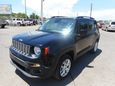 2017 Jeep Renegade for sale at AUGE'S SALES AND SERVICE in Belen NM
