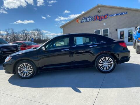 2012 Chrysler 200 for sale at The Auto Depot in Mount Morris MI