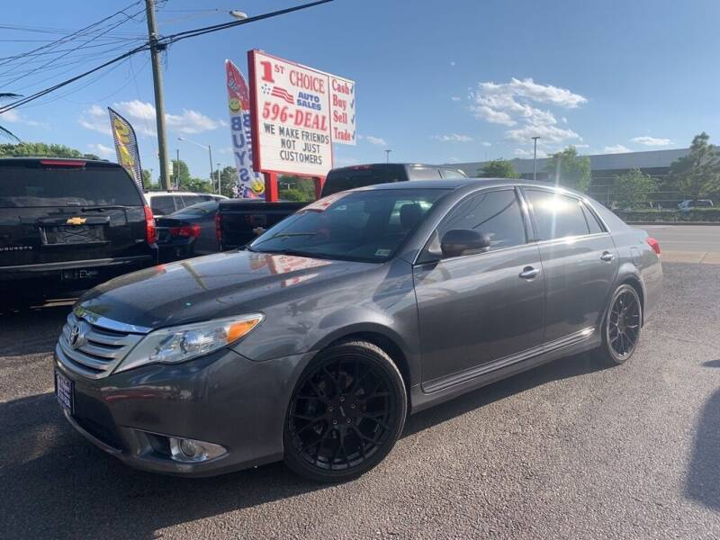 2011 Toyota Avalon for sale at 1st Choice Auto Sales in Newport News VA