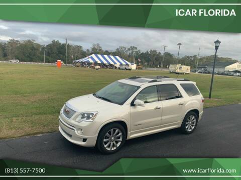 2011 GMC Acadia for sale at ICar Florida in Lutz FL