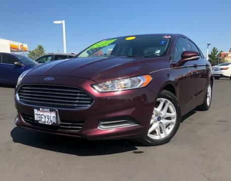 2013 Ford Fusion for sale at LUGO AUTO GROUP in Sacramento CA