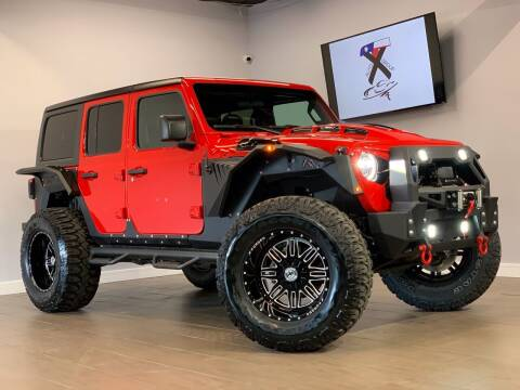 2020 Jeep Wrangler Unlimited for sale at TX Auto Group in Houston TX