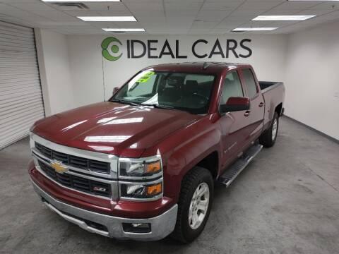 2015 Chevrolet Silverado 1500 for sale at Ideal Cars Broadway in Mesa AZ